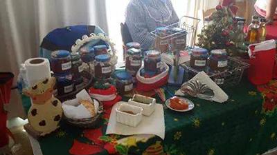 feria con sabor a madryn navidad