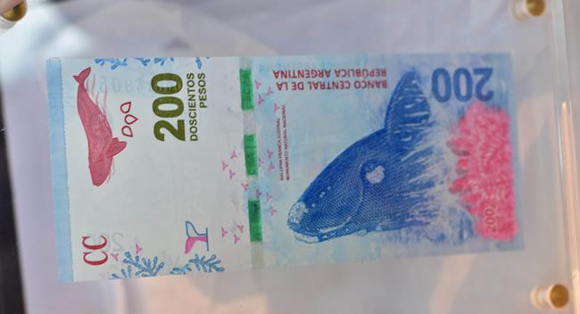 Presentación del nuevo billete de 200 pesos