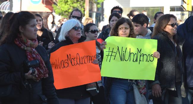#NiUnaMenos Puerto Madryn