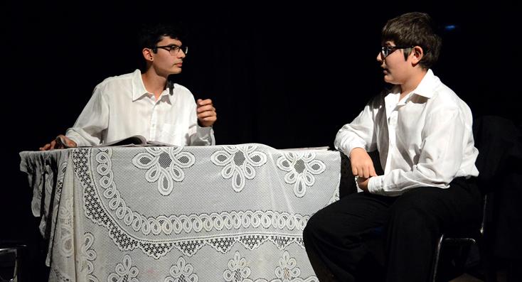 Muestra de fin de año del Taller de Teatro para Adolescentes