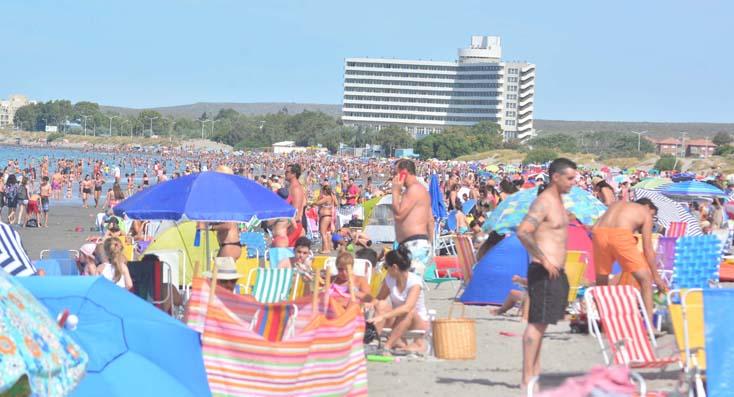 El verano se vive a pleno en Puerto Madryn