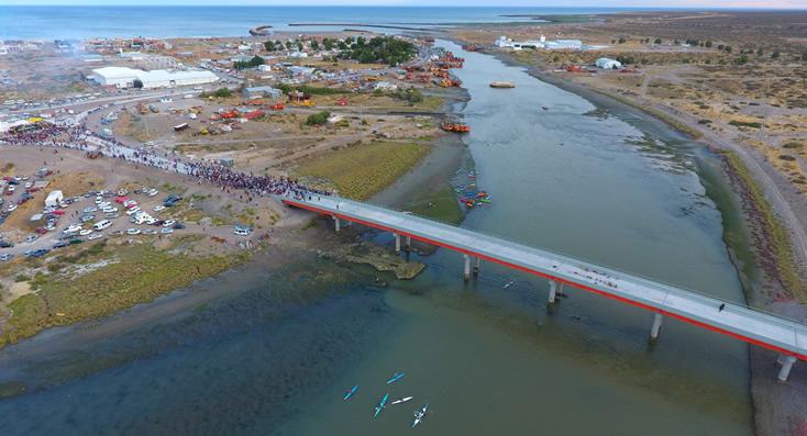 """Inauguración del puente de """"El Elsa"""""""