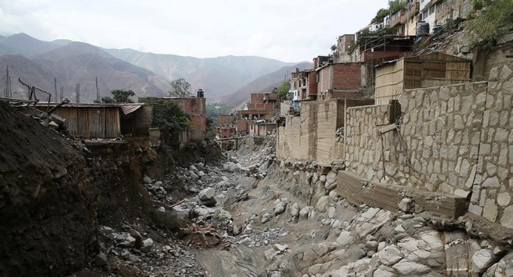 Grave temporal azota Perú