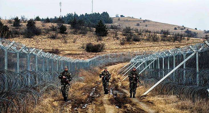Los muros en Europa que buscan controlar la crisis de refugiados