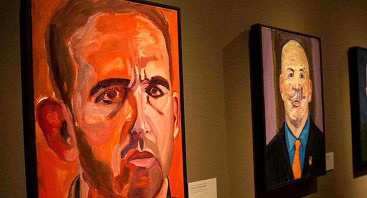 George W. Bush, Ex Presidente de EE.UU. se reinventa como un pintor