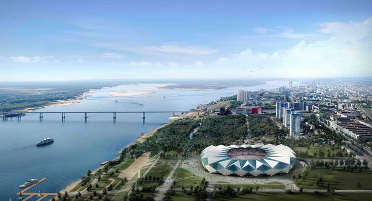 Los mejores estadios de Rusia