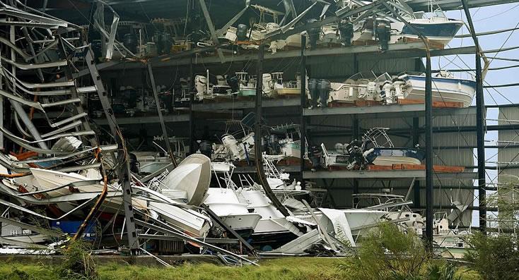 Huracán Harvey causa estragos en Texas