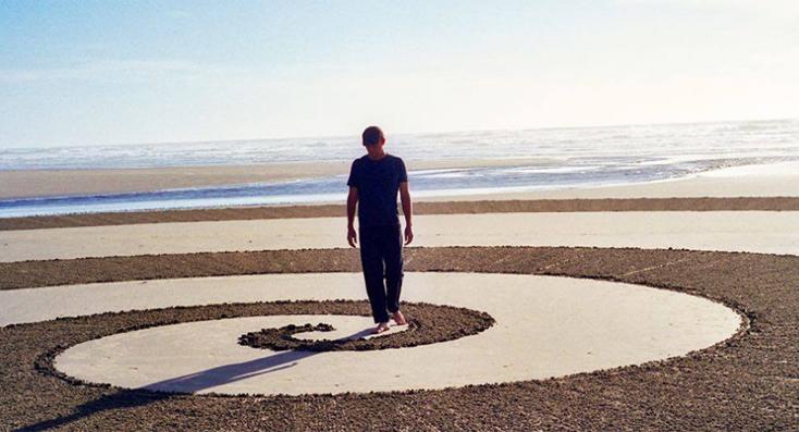 Jim denevan y sus espectaculares dibujos en la arena